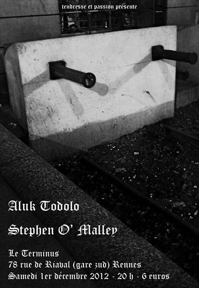 Stephen O'Malley (solo) @ Le Terminus