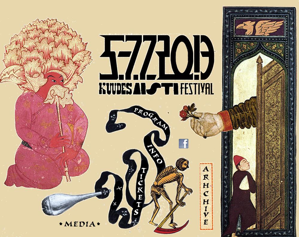 NAZORANAI (Oren Ambarchi, Keiji Haino, Stephen O'Malley trio) @ Kuudes Aisti Festival 2013