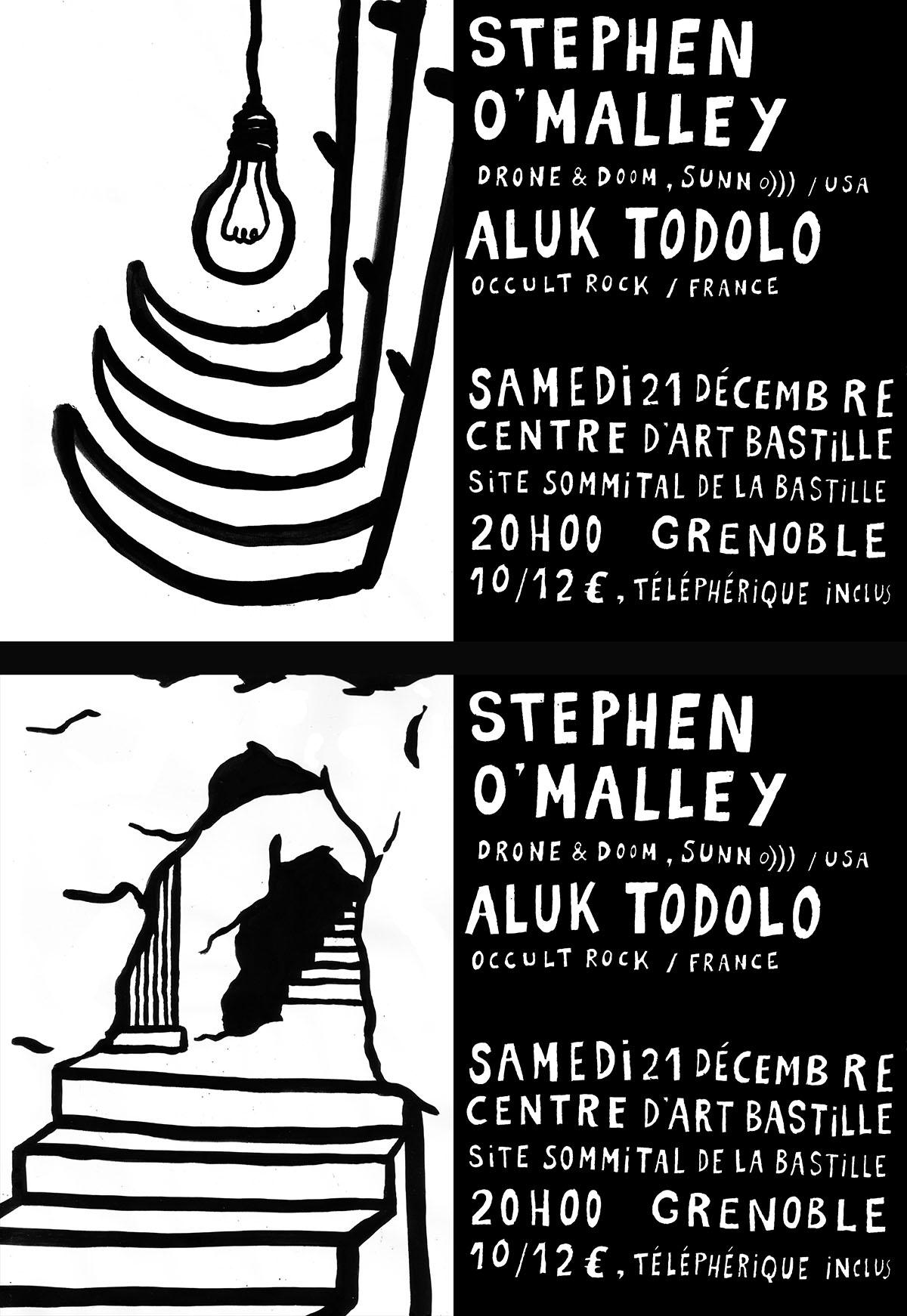 Stephen O'Malley (solo) @ Centre d'Art Bastille