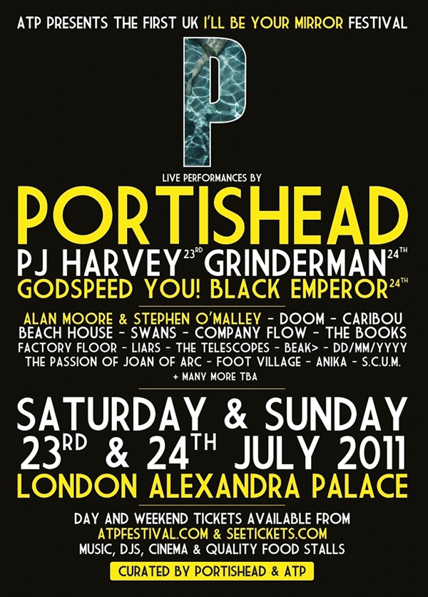"""Alan Moore & Stephen O'Malley @ ATP """"I'LL BE YOUR MIRROR"""" @ Alexandra Palace, London"""