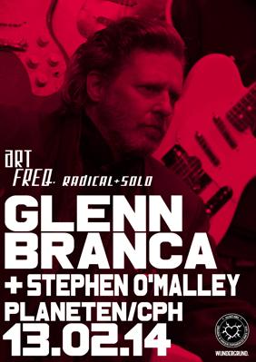 Stephen O'Malley (solo) @ Planeten