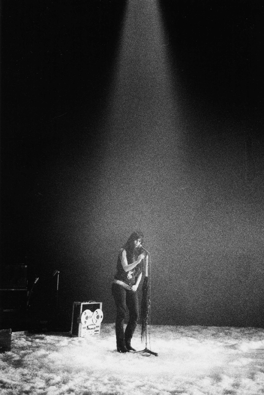 Gisèle Vienne's KINDERTOTENLIEDER (live music by KTL) @ New York Live Arts