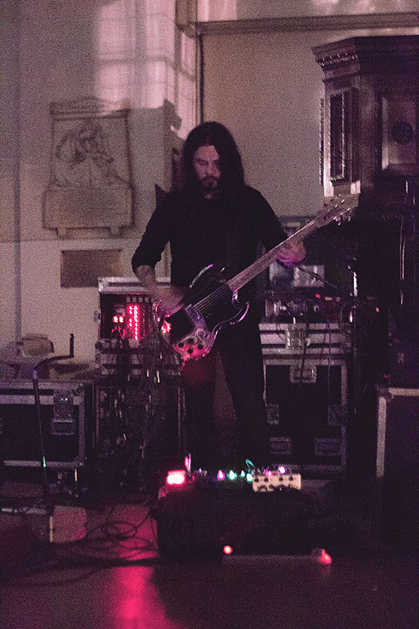 Stephen O'Malley (solo) @ Ny Musikk @ Blæst