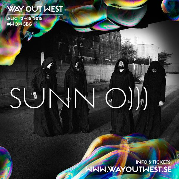 SUNN O))) @ Way Out West Festival