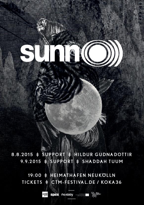 SUNN O))) Shoshin (初心)/Grimmrobes duo @ Heimathafen Neukölln