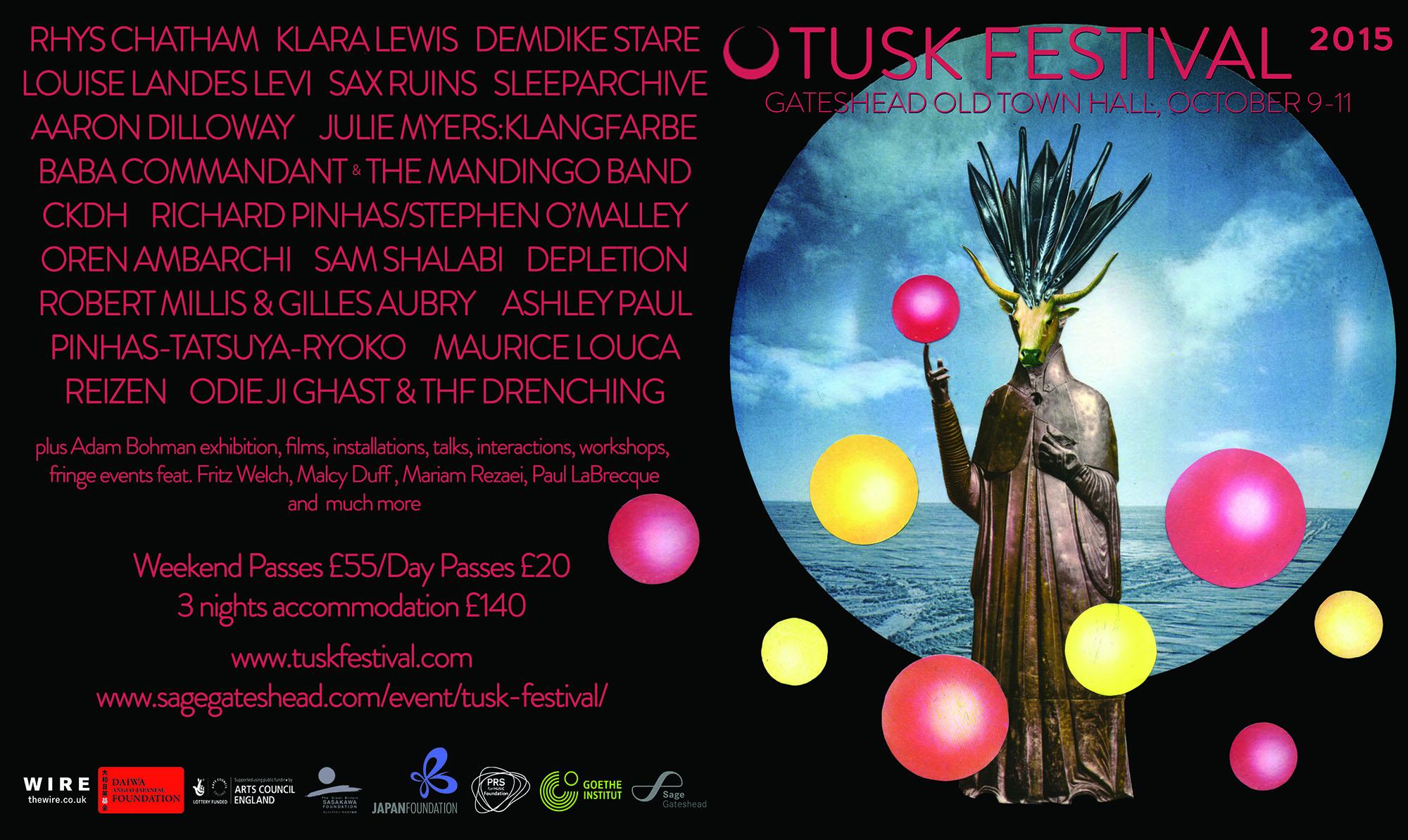 Richard Pinhas & Stephen O'Malley duo @ TUSK Festival