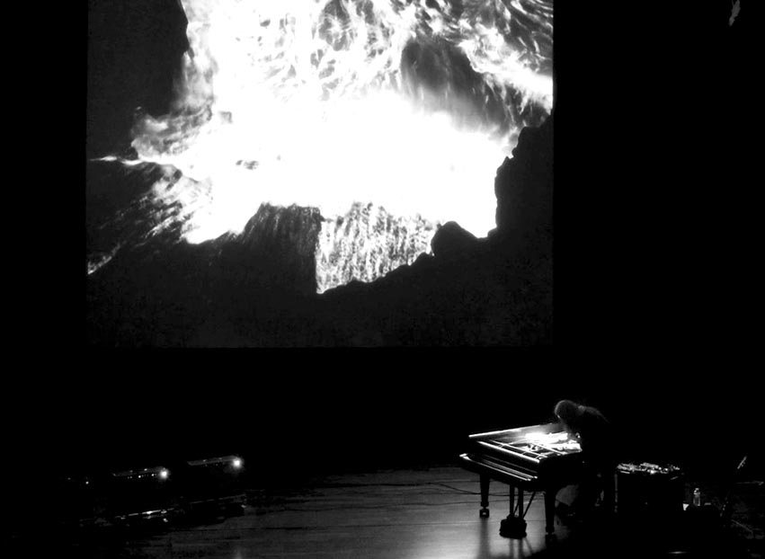 Tempestarii by Gast Bouschet & Nadine Hilbert, Live music by Stephen O'Malley @ Center For Fine Arts Brussels/Bozar