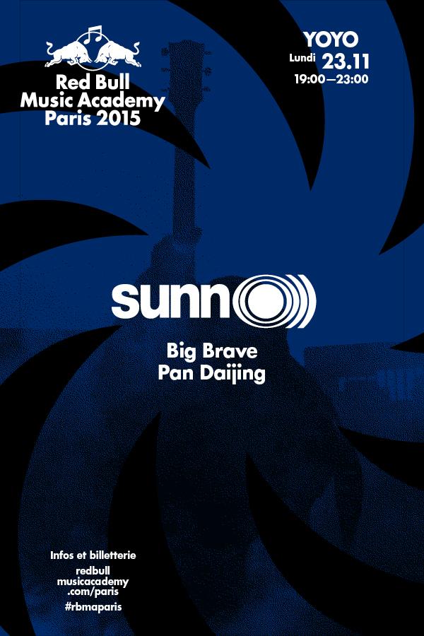 SUNN O))) @ Yoyo / Palais Tokyo, RBMA Paris festival