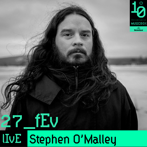 Stephen O'Malley (solo) @ Musicbox
