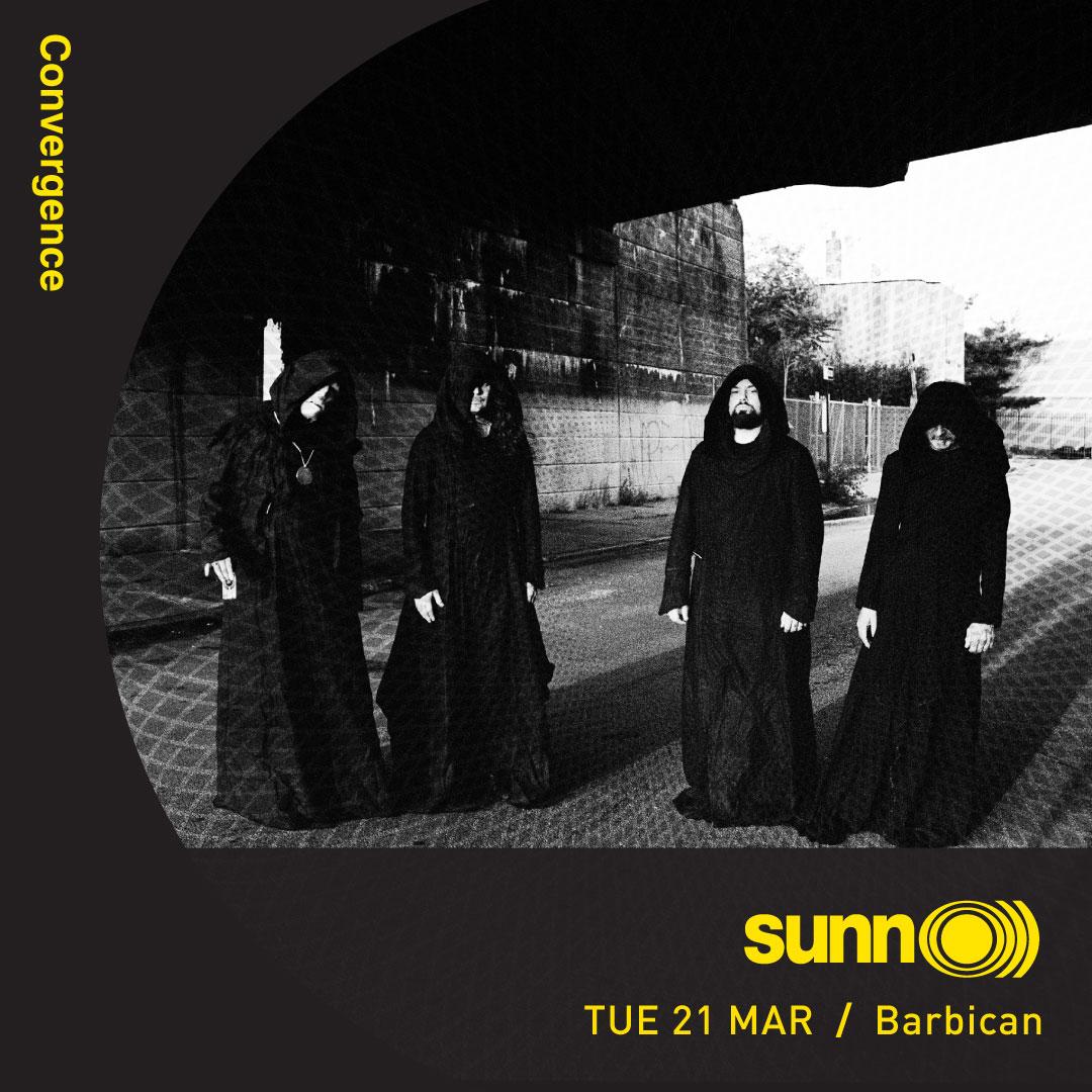 SUNN O))) @ Barbican / Convergence Festival