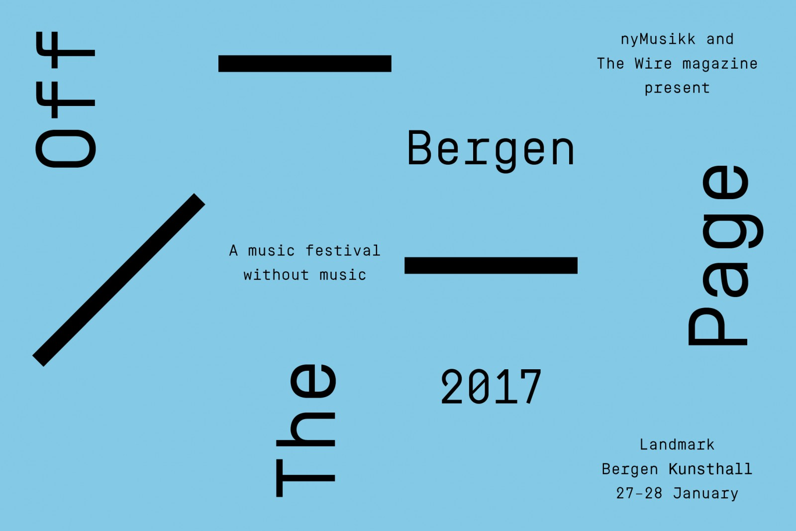 Stephen O'Malley (discussion, wusical epiphanies) @ Landmark / Off The Page Bergen 2017