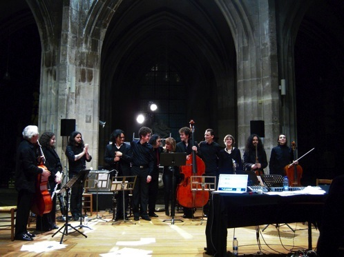 Iancu Dumitrescu & Ana-Maria Avram (w/ Hyperion Ensemble & S. O'Malley) @ 104 - Centquatre