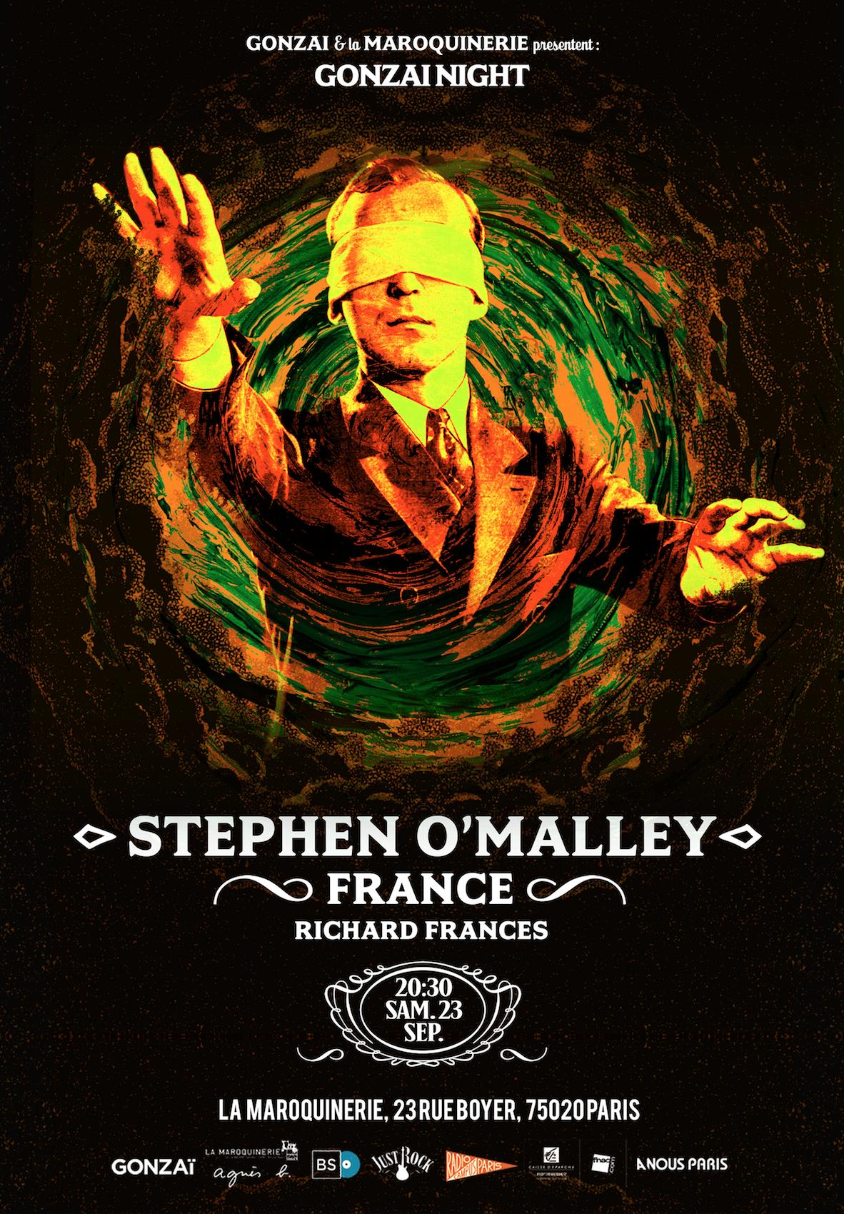 Stephen O'Malley (solo) @ La Maroquinerie