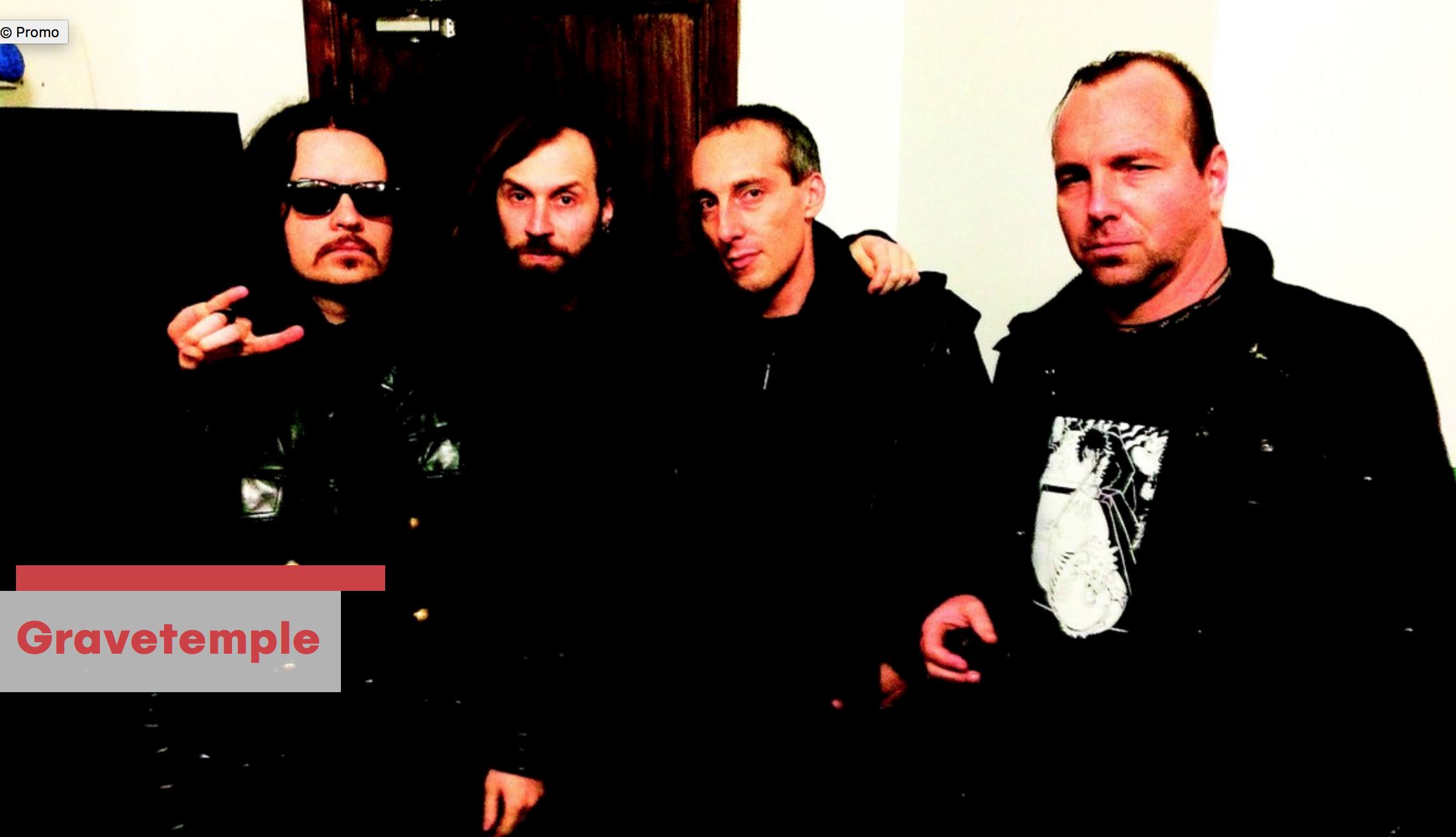 GRAVETEMPLE (Attila Csihar, Oren Ambarchi, Stephen O'Malley) @ Donaufestival
