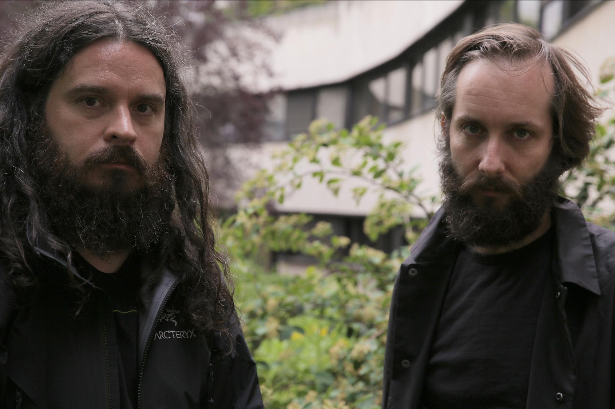 Kassel Jaeger & Stephen O'Malley duo @ Atonal festival / Kraftwerk