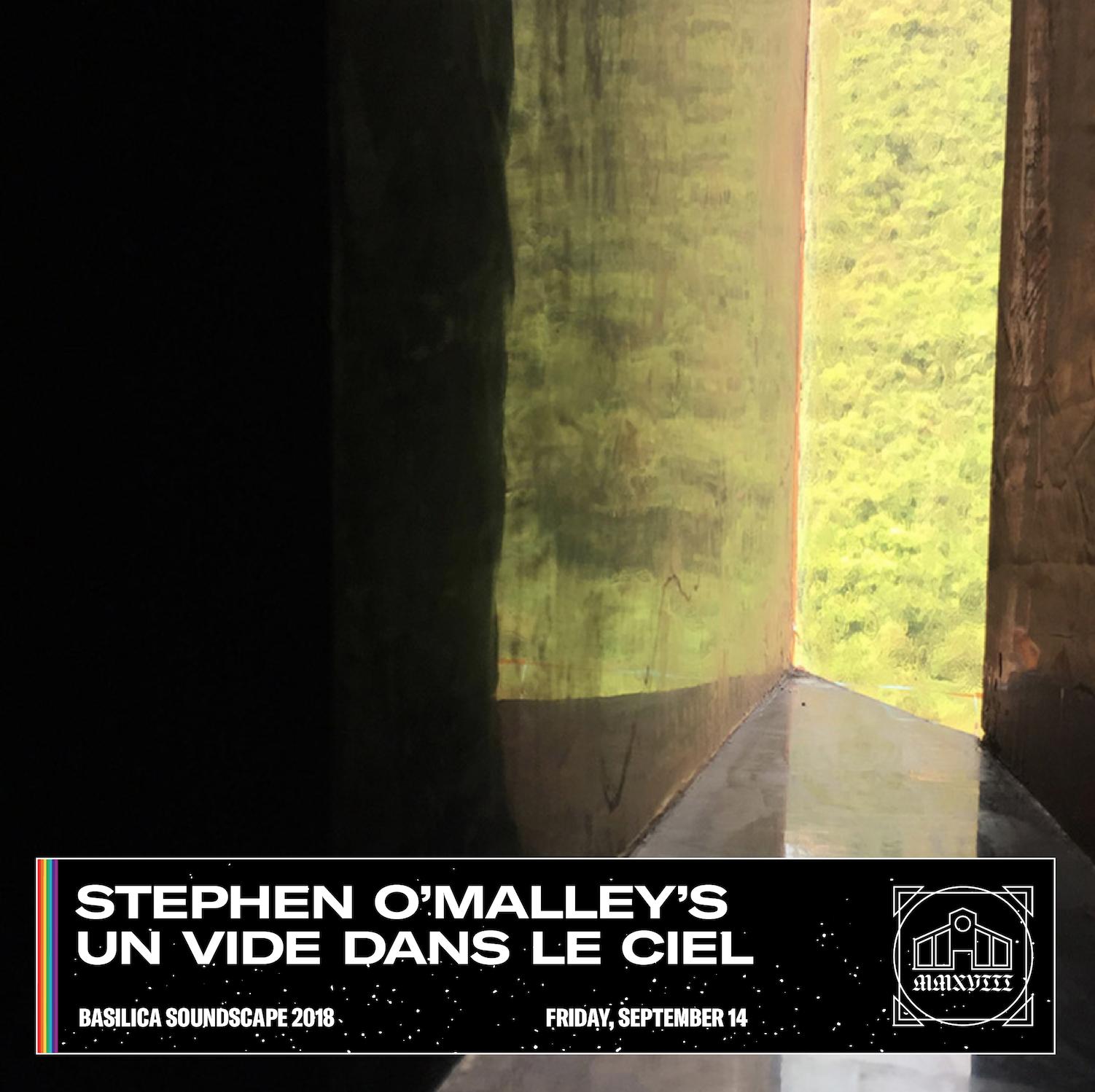 """Stephen O'Malley's """"Un Vide dans le Ciel"""" performed by TON @ Basilica Soundscape Festival"""