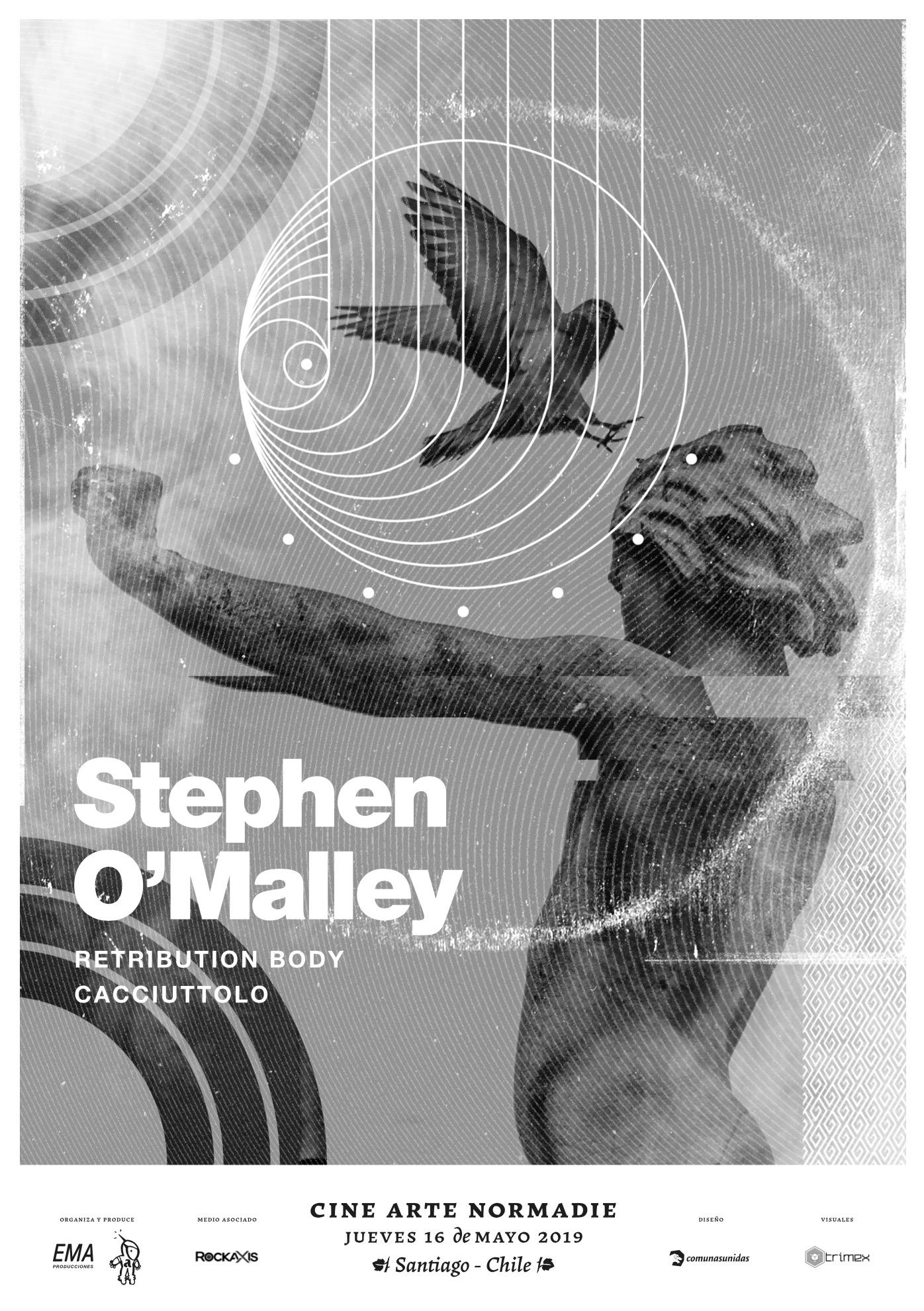 Stephen O'Malley (solo) @ Cine Arte Normandie