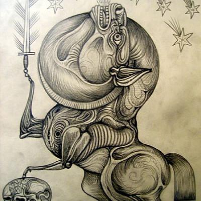 "DANIEL HIGGS ""Cryptozoomorphic Hierograms"" Exhibition May 12th - June 9th"