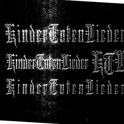 KTL cover & kindertotenlieder logos