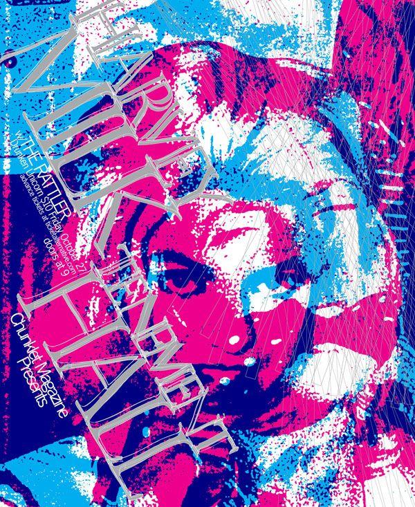 New HAROLD MULCH poster design