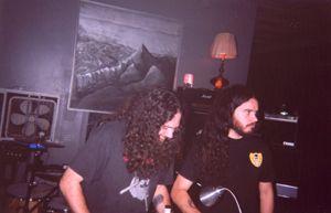 SUNN O))) DJing in CHICAGO 2003