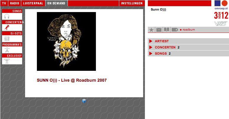 SUNN O))) - Live @ Roadburn 2007