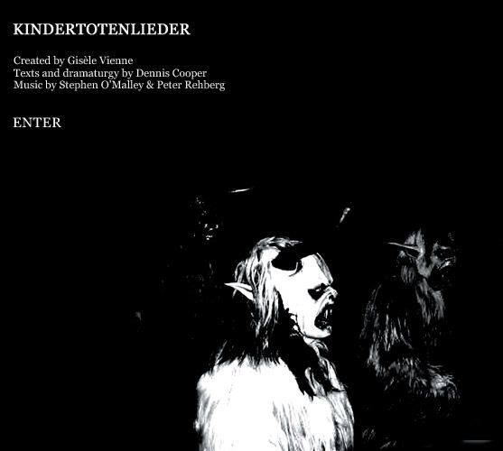 KINDERTOTENLIEDER performances