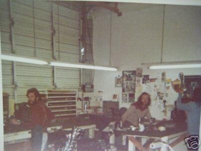 Travis Bean Factory shots