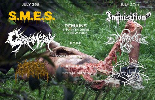 Inquisition in NYC!