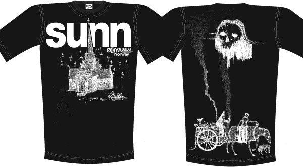 SUNN Ø)))YA tshirt