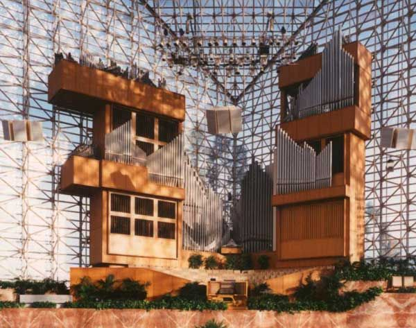 The Hazel Wright Pipe Organ at the Crystal Cathedral