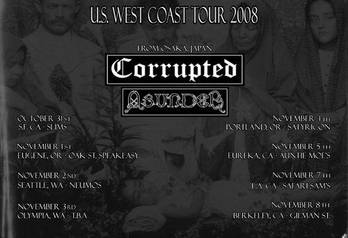 CORRUPTED WEST COAST
