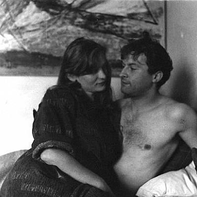Eliane Radigue & Arman in the mid 50s