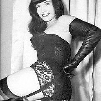 R.I.P. Betty Page