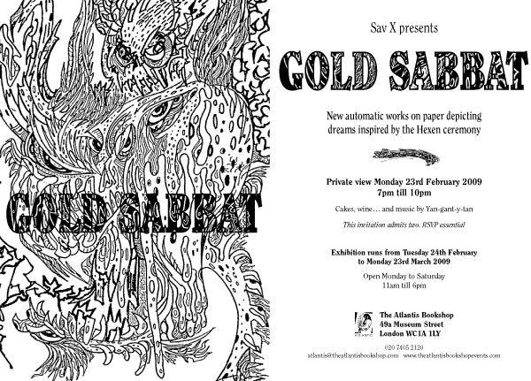 SAV X: GOLD SABBAT