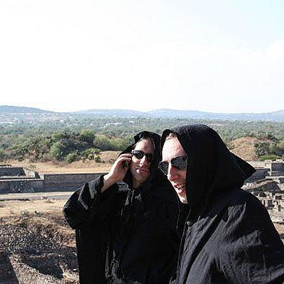 Csihar & Ambarchi at Teotihuacan