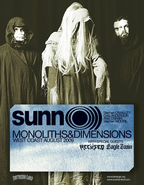 SUNN O))) West Coast Dates!