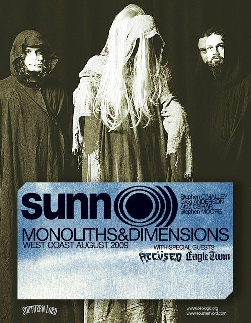 SUNN O))) West Coast Dates!