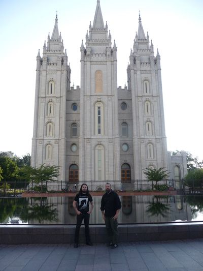 In the Mormon Hive / SLC with Eagle Twin