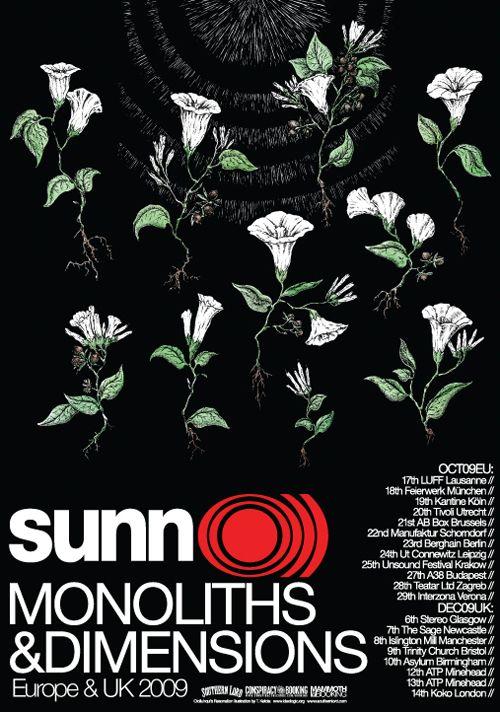Timo Ketola SUNN O))) poster