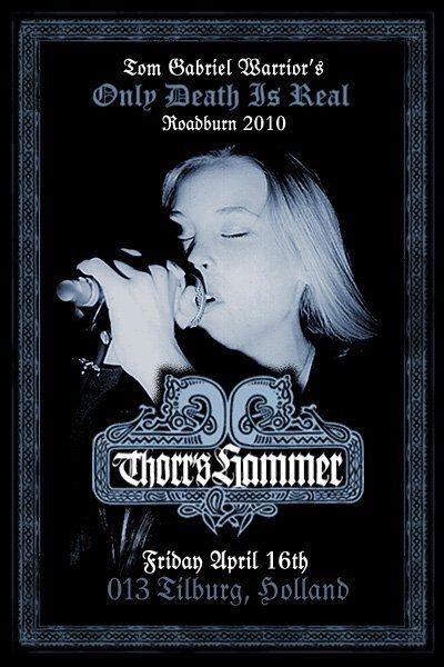 Thorr's Hammer, Tom G Warrior & Roadburn