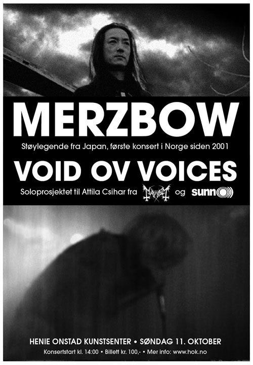 Merzbow & Attila in Henie-Osntad, Oslo