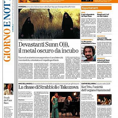 SUNN O))) vs La Repubblica/ L'Arena di Verona