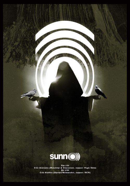 SUNN O))) vs OSLO poster
