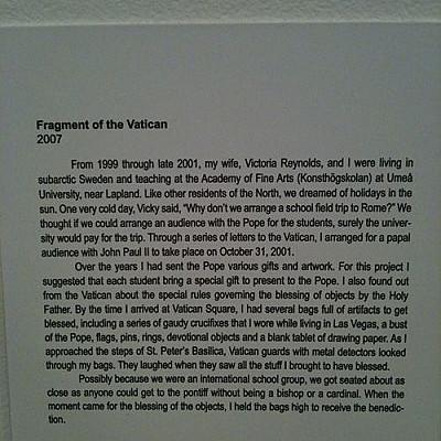 SOMA: NYC art trolling results Jan 2009