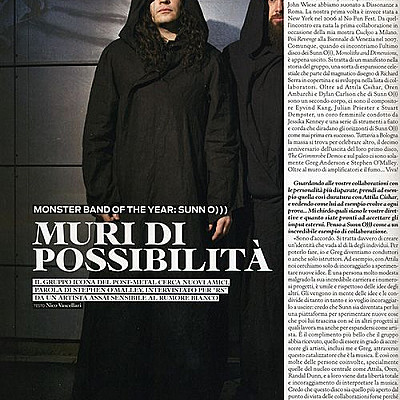 SUNN/SOMA vs Rolling Stone Italy