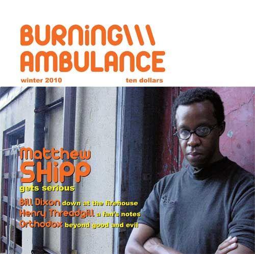 Burning Ambulance
