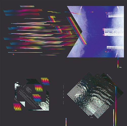 "Oneohtrix Point Never ""Returnal"" Gatefold Vinyl design"