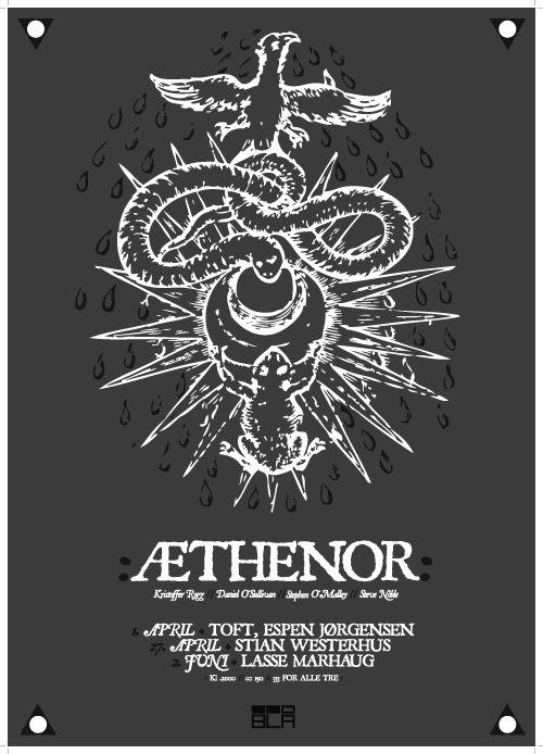 Æthenor Oslo poster
