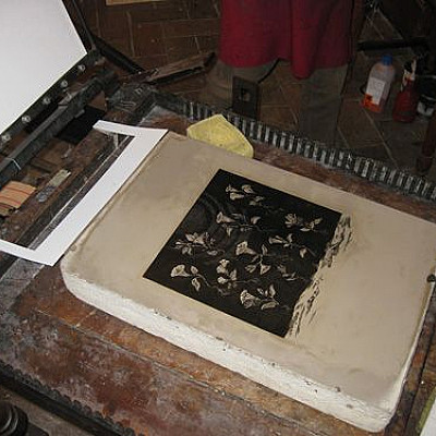 "Lithography printing of ""Ololiuhqui's Resonation"" (SUNN O))) related)"